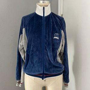 Vintage Christian Dior Velour Bomber Jacket